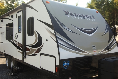 Keystone RV Passport SL Super-lite series 197RB